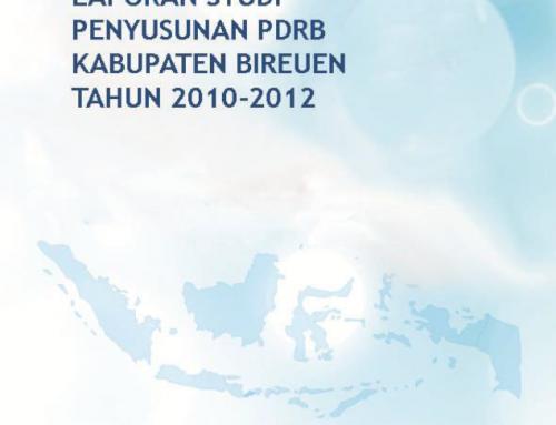 PDRB Penggunaan Bireuen 2013