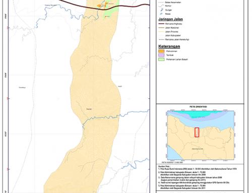 Peta Kecamatan Pandrah