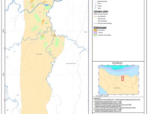 Peta Peusangan Selatan