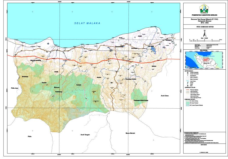 Peta Kawasan Hutan
