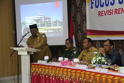 FOCUS GROUP DISCUSSION KE-1 PEKERJAAN REVISI RTRW KABUPATEN BIREUEN TAHUN 2012-2032